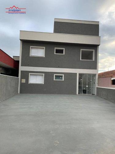 Casa Com 2 Dormitórios À Venda, 45 M² Por R$ 285.000,00 - Vista Alegre - Piracaia/sp - Ca4372