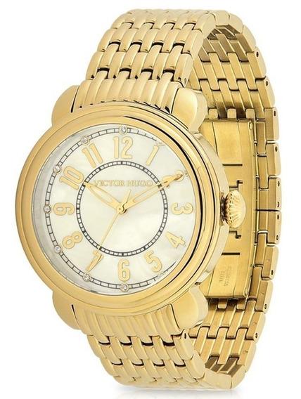 Relógio Victor Hugo 10129lsg/54m - Dourado