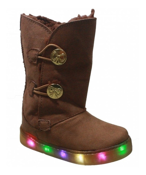 Bota Brink Snow Led Marron Camurça 79.022.002