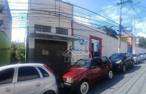 Loja, 75 M² - Venda Por R$ 350.000,00 Ou Aluguel Por R$ 2.000,00/mês - Centro - São Gonçalo/rj - Lo0027