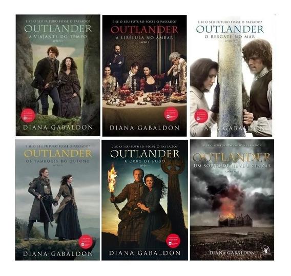 Coleção Completa Serie Outlander Livros 1 2 3 4 5 E 6 (6vol)