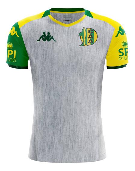 Camiseta Aldosivi Kombat Suplente 2019 Gris Hombre Kappa