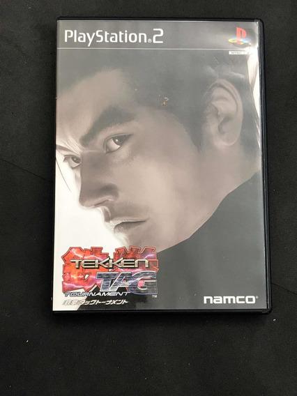 Tekken Tag Tournament Para Ps2 Japonês Original Na Caixa