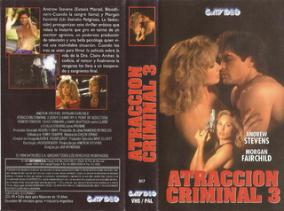 Atraccion Criminal 3 Vhs Morgan Fairchild Andrew Stevens