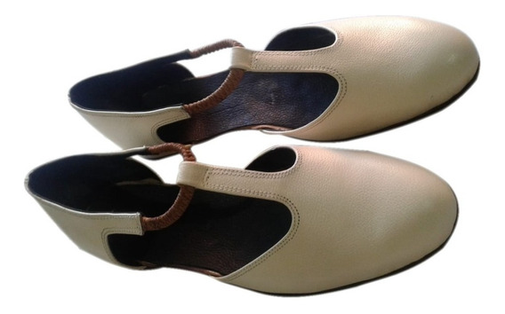 Zapato De Baile Folklore Y Danzas .art Badana Con Elastico