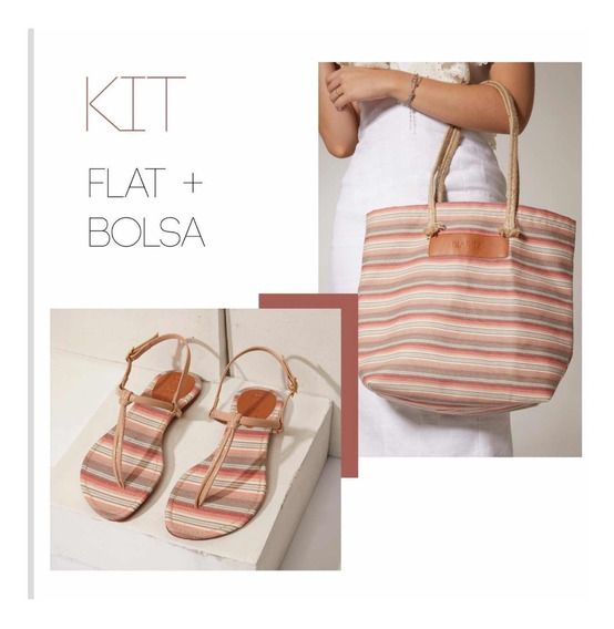 Rasteirinha + Bolsa Kit