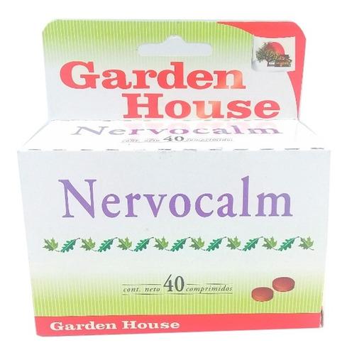 Garden House Nervocalm Sedante Natural X 40 Comprimidos