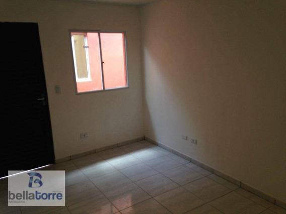 Casa Residencial Com 35m² Para Locação, São Francisco, Curitiba. - Ca0079