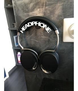Suporte De Parede Para Headphone Universal Grande
