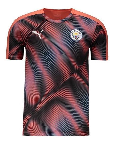 Camisa Puma Manchester City Stadium Coral