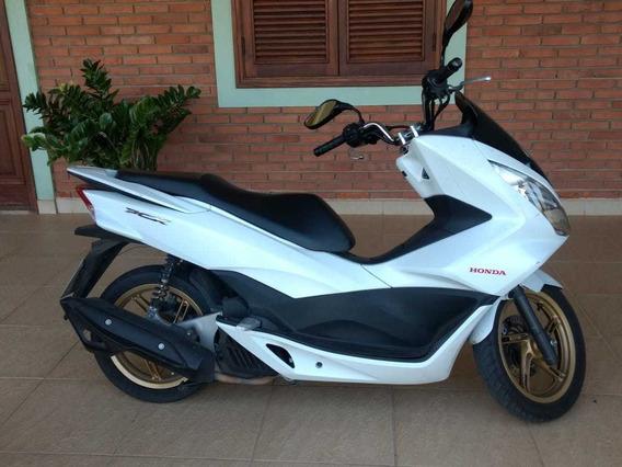 Moto Honda Pcx 150 Dlx Gasolina 2016 Branca Partida Elétrica