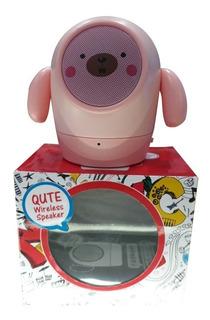 Parlante Portátil Qute Wireless Speaker.