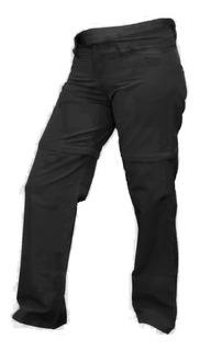 Pantalon Cargo Desmontable Para Dama Secado Rapido Trekking