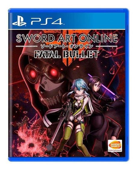 Sword Art Online Fatal Bullet Ps4 Mídia Física