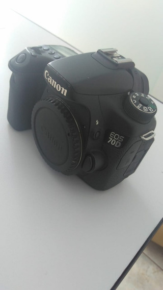 Camera Canon 70d Com 107516 Cliques (usada)