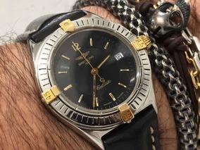 Breitling Callisto Blue Aço/ouro 80510c Quartz Swiss Made