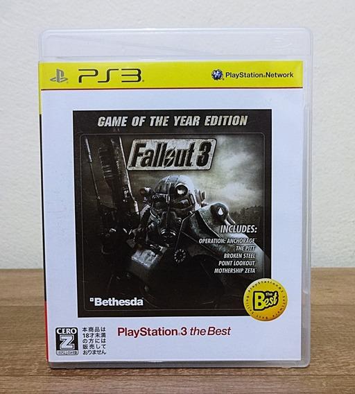 Fallout 3 Ps3 Japonês
