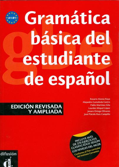 Gramatica Basica Del Estudiante De Espanol - Niveles A1-a2
