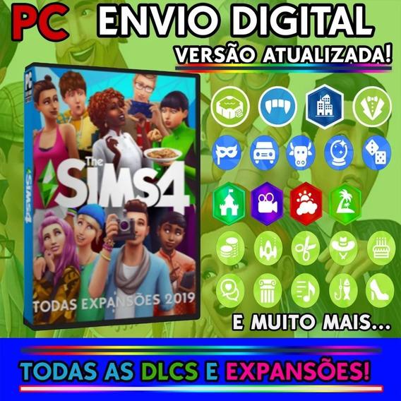 The Sims 4 Completo Todas Expansões Vida Universitária -br