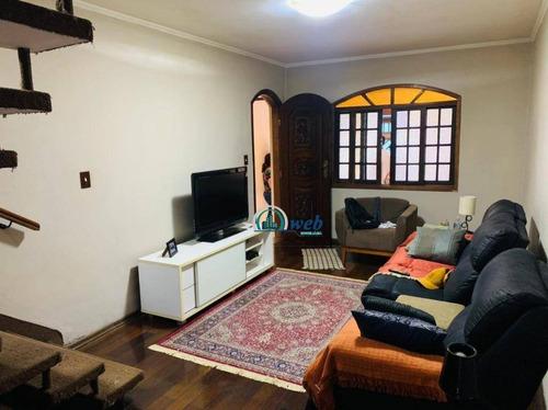 Imagem 1 de 21 de Sobrado À Venda, 120 M² Por R$ 400.000,00 - Planalto - São Bernardo Do Campo/sp - So1081