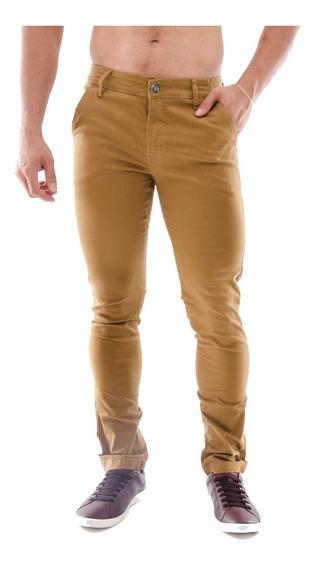 Calça Social Slim Fit - Masculino Sarja