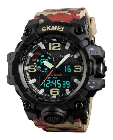 Relógio Skmai Original Modelo 1155 Camuflado Promoção.