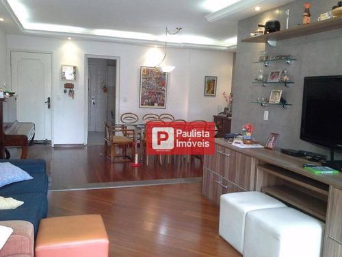 Apartamento Com 3 Dormitórios À Venda, 132 M² Por R$ 868.770,00 - Chácara Santo Antônio (zona Sul) - São Paulo/sp - Ap31141