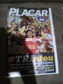 Revista Pôster Corinthians Tricampeão Paulista 2019 Placar