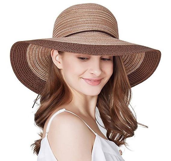 Sombrero De Ala Ancha Colgante Moda De Verano Playa Cafe