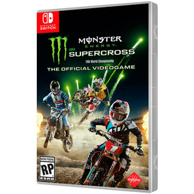Jogo Monster Energy Supercross Nintendo Switch.