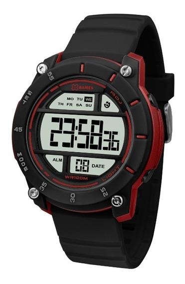 Relógio X Games Xmppd518 Bxpx Preto Original