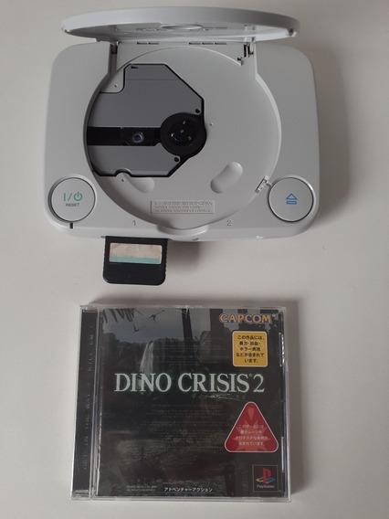 Playstation One Japonês. Com Jogo Lacrado.