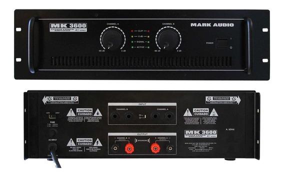 Amplif.markaudio De Potencia Mk3600/a