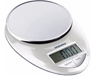 Balanza De Cocina Digital Daewoo- Función Tara 3kg- Ks7250
