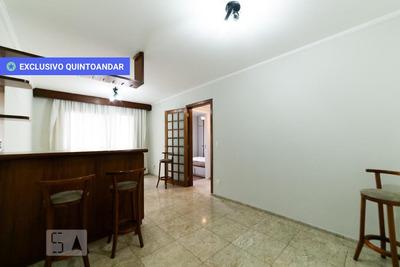 Apartamento No 9º Andar Mobiliado Com 2 Dormitórios E 2 Garagens - Id: 892842946 - 142946