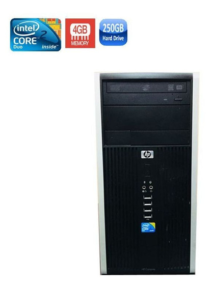 Pc Hp 6000 Core 2 Duo 4gb Hd 250gb + Wi-fi