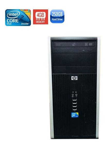 Pc Hp 6000 Core 2 Duo 4gb Hd 250gb + Wi-fi