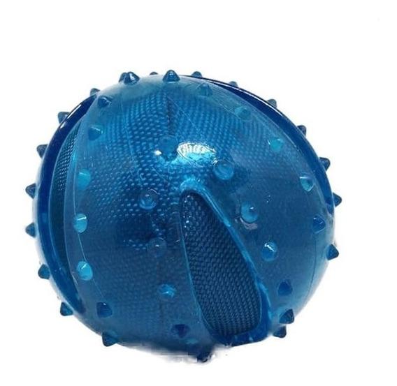 Brinqueedo Bola Cães Cachorro Tpr Oxford Azul Jambo Pet