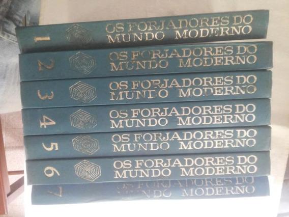 Coleção Livros Os Forjadores Do Mundo Moderno 6 Volumes 1962