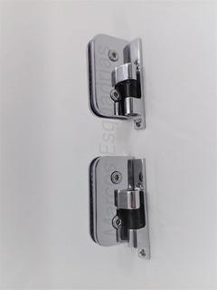 2 Dobradiças Automática 1114 Para Box De Banheiro