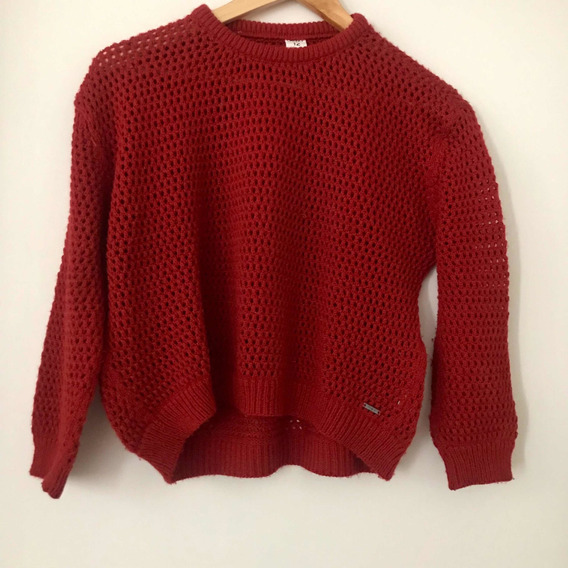 Sweater Cheeky Rojo Oscuro Talle 12