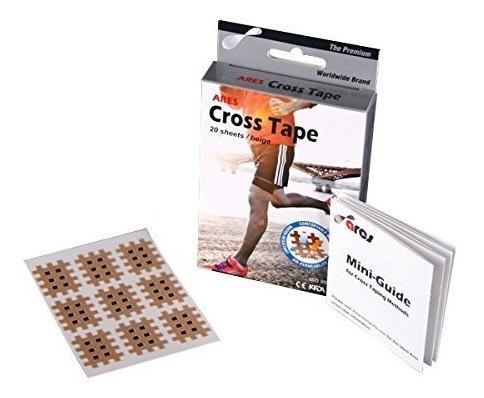 Imagen 1 de 5 de Ares Kinesiology Cross Tape Type A 180 Parches Cintas
