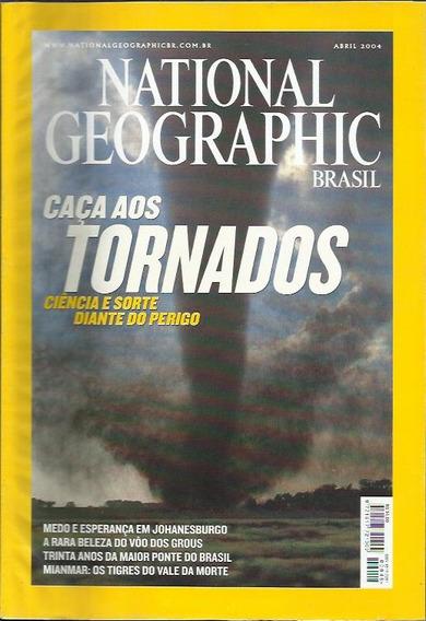 3 Edições National Geographic: Abr, Mai, Jun / 2004