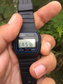 Relógio Casio F91w F-91 100% Original Made In Thailand C/ Cx