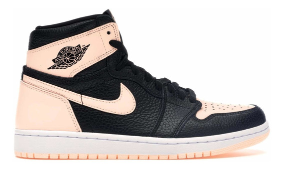 Jordan 1 Retro High Black Crimson Tint Original