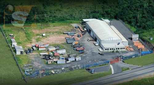 Área Industrial Em Vila Sol Nascente  -  Suzano - 2824
