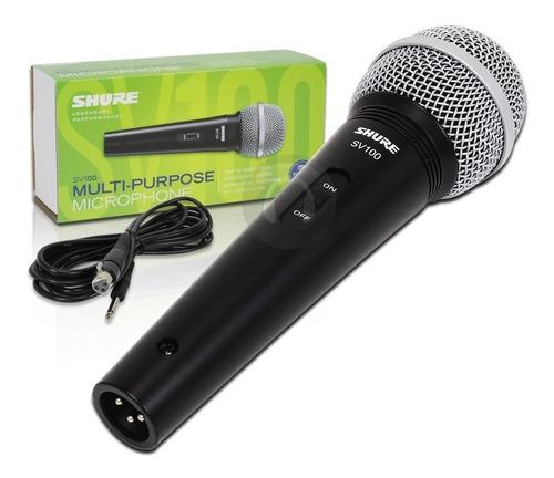 Micrófono Shure Sv100 Original Alambrico Profesional