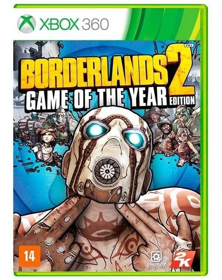 Borderlands 2 ( Goty ) Xbox 360 Mídia Física Lacrado Nfe
