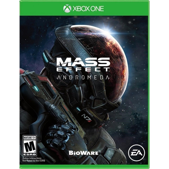 Mass Effect Andromeda - Xbox One Lacrado