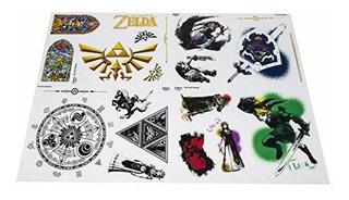 Paladone Nintendo Leyenda De Zelda Hyrule - Calcomanias De G